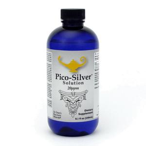 Pico Silver Solution - Dr. Dean's Pico Mineral Silver Solution - 240ml
